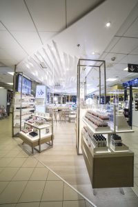 Lumene shop-in-shop Helsinki Stockmann
